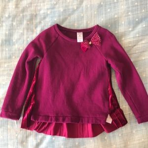 4450ff659e Carter's Shirts & Tops | Carters Toddler Girl Long Sleeves Blouse ...
